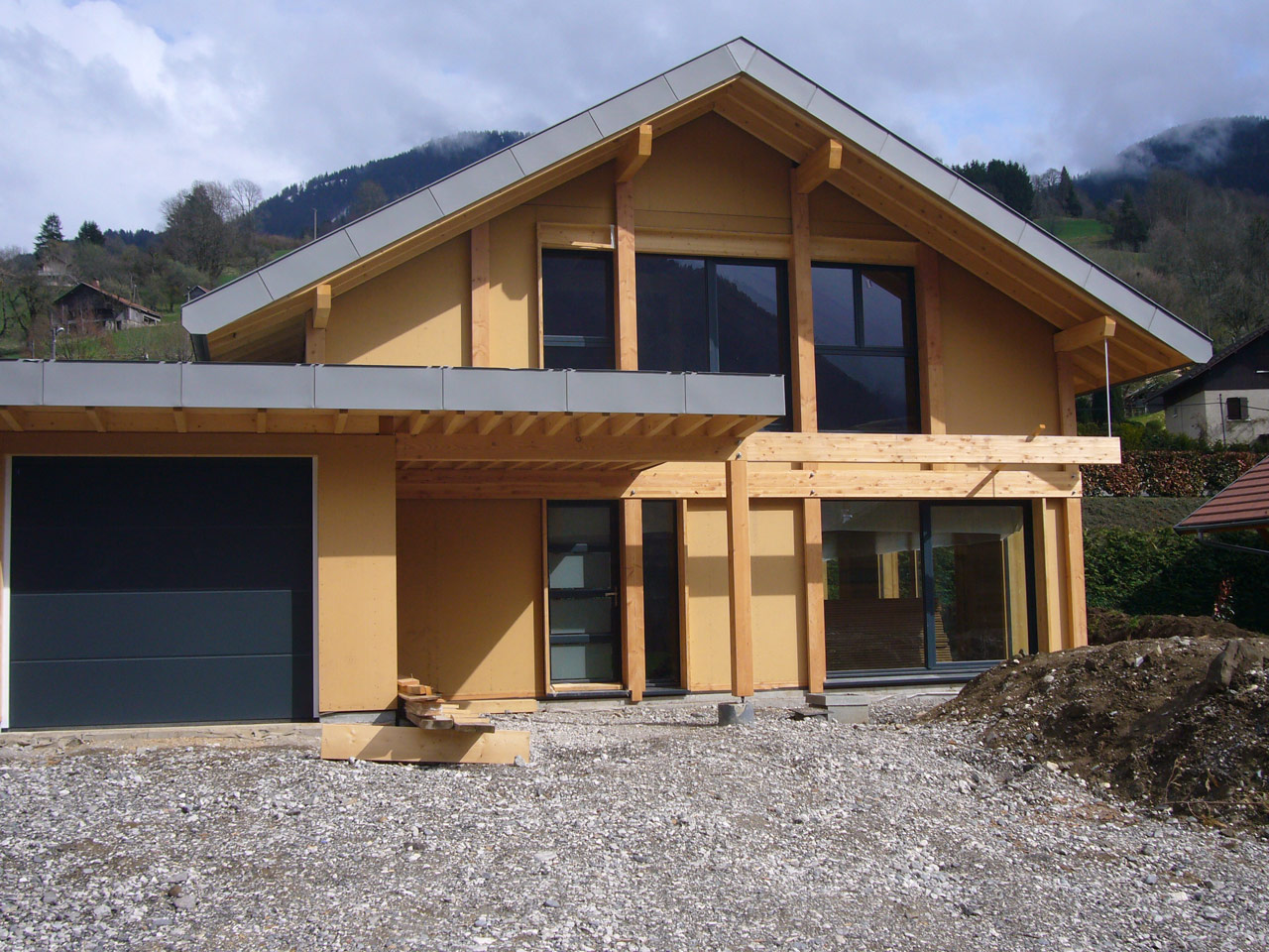 Tarif construction maison haute savoie ossature bois for Constructeur maison individuelle haute savoie